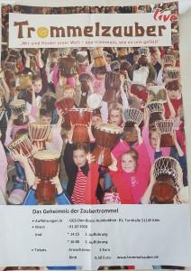 Plakat Trommelzauber